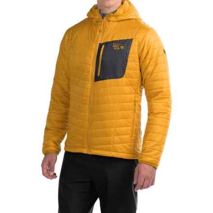 Mountain Hardwear Thermostatic Hooded Jacket - Insulated (For Men) in Inca Gold - Closeouts