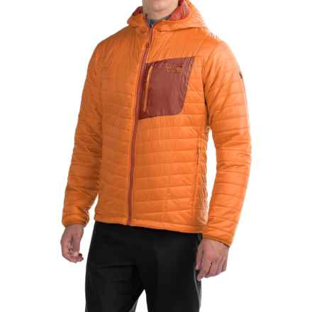 Mountain Hardwear Thermostatic Hooded Jacket - Insulated (For Men) in Orange Copper - Closeouts