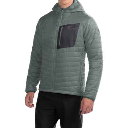 Mountain Hardwear Thermostatic Hooded Jacket - Insulated (For Men) in Thunderhead Grey - Closeouts