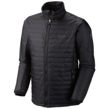 Mountain Hardwear Thermostatic Jacket - Insulated (For Men) in Black - Closeouts