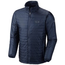 Mountain Hardwear Thermostatic Jacket - Insulated (For Men) in Collegiate Navy - Closeouts