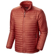 Mountain Hardwear Thermostatic Jacket - Insulated (For Men) in Flame - Closeouts
