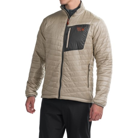 Mountain Hardwear Thermostatic Jacket - Insulated (For Men) in Fossil