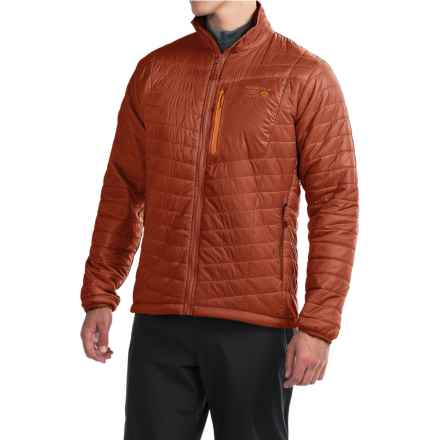 Mountain Hardwear Thermostatic Jacket - Insulated (For Men) in Orange Copper - Closeouts