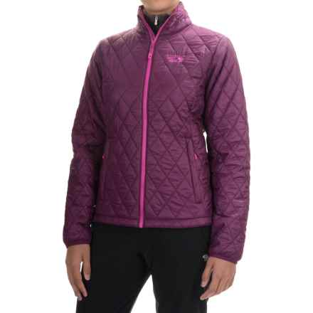 Mountain Hardwear Thermostatic Jacket - Insulated (For Women) in Dark Raspberry/Deep Blush - Closeouts