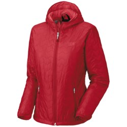 Mountain Hardwear Thermostatic Jacket - Insulated (For Women) in Ruby