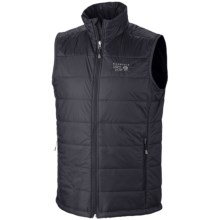 Mountain Hardwear Thermostatic Vest - Insulated (For Men) in Black - Closeouts