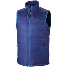 Mountain Hardwear Thermostatic Vest - Insulated (For Men) in Royal - Closeouts