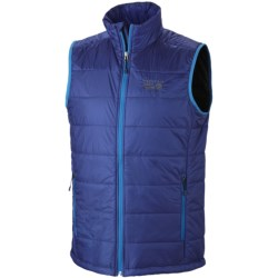 Mountain Hardwear Thermostatic Vest - Insulated (For Men) in Royal