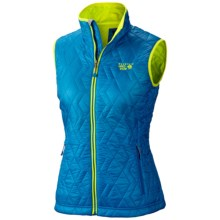 Mountain Hardwear Thermostatic Vest - Insulated (For Women) in Bay Blue - Closeouts
