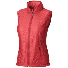 Mountain Hardwear Thermostatic Vest - Lightweight, Insulated (For Women) in Ruby - Closeouts