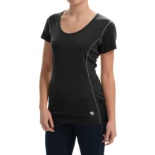 Mountain Hardwear Timica Shirt - Short Sleeve (For Women) in Black - Closeouts
