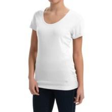 Mountain Hardwear Timica Shirt - Short Sleeve (For Women) in White - Closeouts