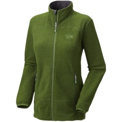 Mountain Hardwear Toasty Tweed Fleece Jacket (For Women) in Jungle