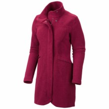 Mountain Hardwear Toasty Tweed Fleece Jacket (For Women) in Rich Wine - Closeouts