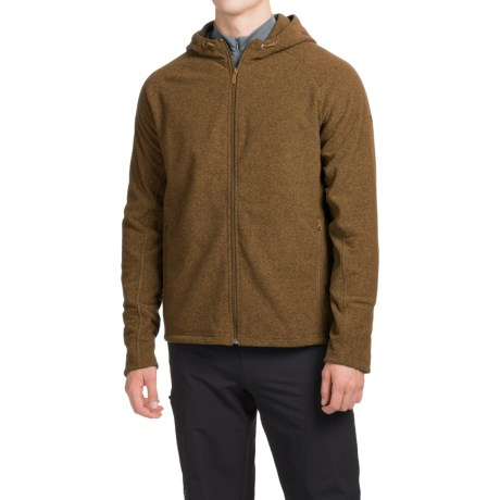 Mountain Hardwear Toasty Twill Fleece Hoodie UPF 50, Full Zip (For Men)
