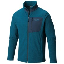 Mountain Hardwear Toasty Twill Fleece Jacket (For Men) in Phoenix Blue/Hardwear Navy - Closeouts