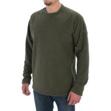 Mountain Hardwear Toasty Twill Fleece Shirt - UPF 50, Long Sleeve (For Men) in Greenscape - Closeouts