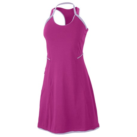 Mountain Hardwear Tonga Dress - Racerback (For Women) in Deep Blush/Morning Mist