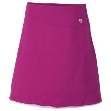 Mountain Hardwear Tonga Skirt - Stretch Cotton Jersey (For Women) in Deep Blush - Closeouts