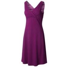Mountain Hardwear Tonga Solid Dress - V-Neck, Sleeveless (For Women) in Dark Raspberry - Closeouts