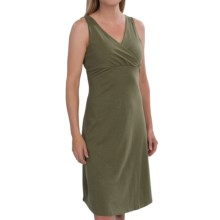 Mountain Hardwear Tonga Solid Dress - V-Neck, Sleeveless (For Women) in Mosstone - Closeouts