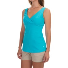Mountain Hardwear Tonga Solid Tank Top - Stretch Jersey (For Women) in Atoll - Closeouts