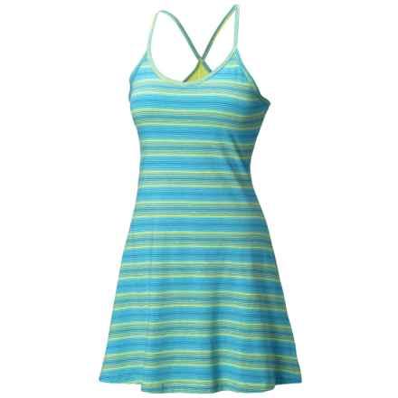 Mountain Hardwear Tonga Stripe Dress - V-Neck, Sleeveless (For Women) in Tippet - Closeouts