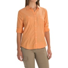 Mountain Hardwear Toralake Shirt - Button Front, Long Sleeve (For Women) in Koi - Closeouts