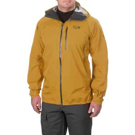 Mountain Hardwear Torsun Dry.Q® Elite Jacket - Waterproof (For Men) in Inca Gold - Closeouts