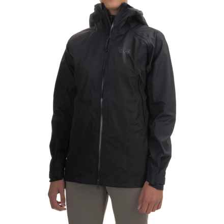 Mountain Hardwear Torsun Dry.Q Elite Jacket - Waterproof (For Women) in Black - Closeouts