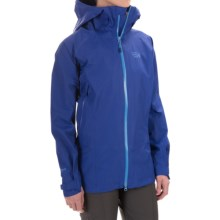 Mountain Hardwear Torsun Dry.Q Elite Jacket - Waterproof (For Women) in Nectar Blue - Closeouts