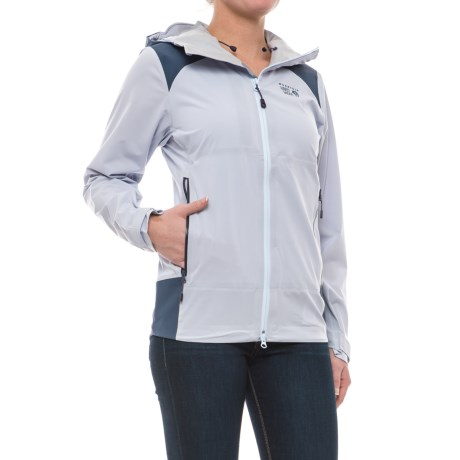 Mountain Hardwear Torzonic™ Dry.Q® Elite Jacket - Waterproof (For Women) in Atmosfear