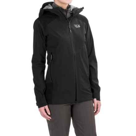 Mountain Hardwear Torzonic™ Dry.Q® Elite Jacket - Waterproof (For Women) in Black - Closeouts
