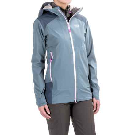 Mountain Hardwear Torzonic™ Dry.Q® Elite Jacket - Waterproof (For Women) in Mountain - Closeouts