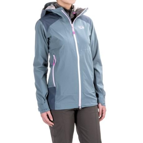 Mountain Hardwear Torzonic™ Dry.Q® Elite Jacket - Waterproof (For Women) in Mountain