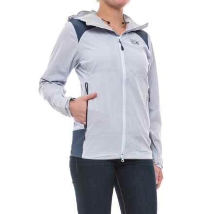 Mountain Hardwear Torzonic? Dry.Q® Elite Jacket - Waterproof (For Women) in Atmosfear - Closeouts