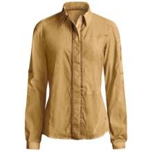 Mountain Hardwear Trailhead Shirt - UPF 25, Long Sleeve (For Women) in Gold Dust - Closeouts