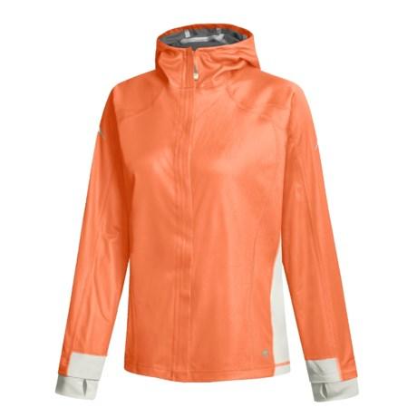 Mountain Hardwear Transition Jacket - Gore Windstopper® (For Women) in Chica/Cool Grey