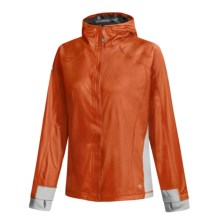 Mountain Hardwear Transition Jacket - Gore Windstopper® (For Women) in Orange/Cool Grey - Closeouts