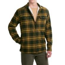 Mountain Hardwear Trekkin' Shacket - Fleece Lined (For Men) in Greenscape - Closeouts