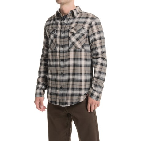Mountain Hardwear Trekkin Flannel Shirt Long Sleeve (For Men)