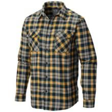 Mountain Hardwear Trekkin Flannel Shirt - Long Sleeve (For Men) in Inca Gold - Closeouts