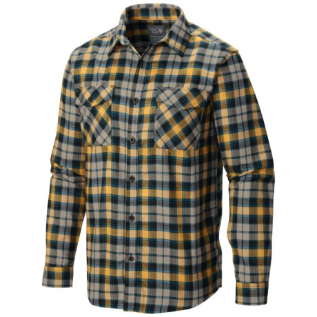 Mountain Hardwear Trekkin Flannel Shirt