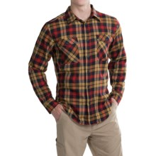 Mountain Hardwear Trekkin Flannel Shirt - Long Sleeve (For Men) in Rocket - Closeouts