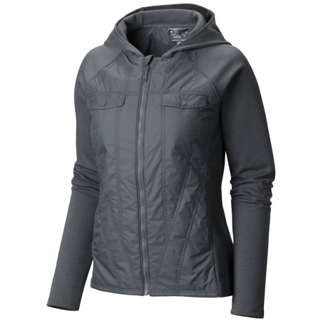 Mountain Hardwear Trekkin Insulated Hybrid Hoody