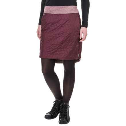 Mountain Hardwear Trekkin Knee Skirt - Insulated (For Women) in Marionberry - Closeouts