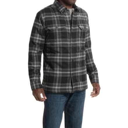 Mountain Hardwear Trekkin' Shacket - Fleece Lined (For Men) in Black - Closeouts
