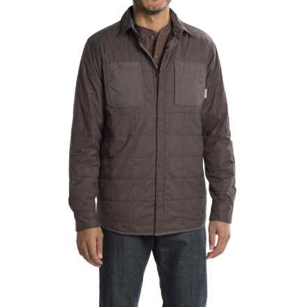 Mountain Hardwear Trekkin Shirt Jacket - Insulated (For Men) in Shark - Closeouts