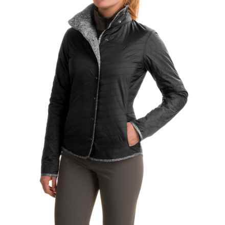 Mountain Hardwear Trekkin Shirt Jacket - Insulated (For Women) in Black - Closeouts